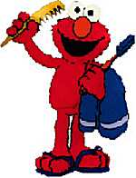 dress up elmo!